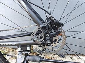 Флагман! Алюминиевый горный велосипед 29 TITAN EGOIST HDD (Shimano Altus, 24sp, Lockout, Гидравлика), фото 2