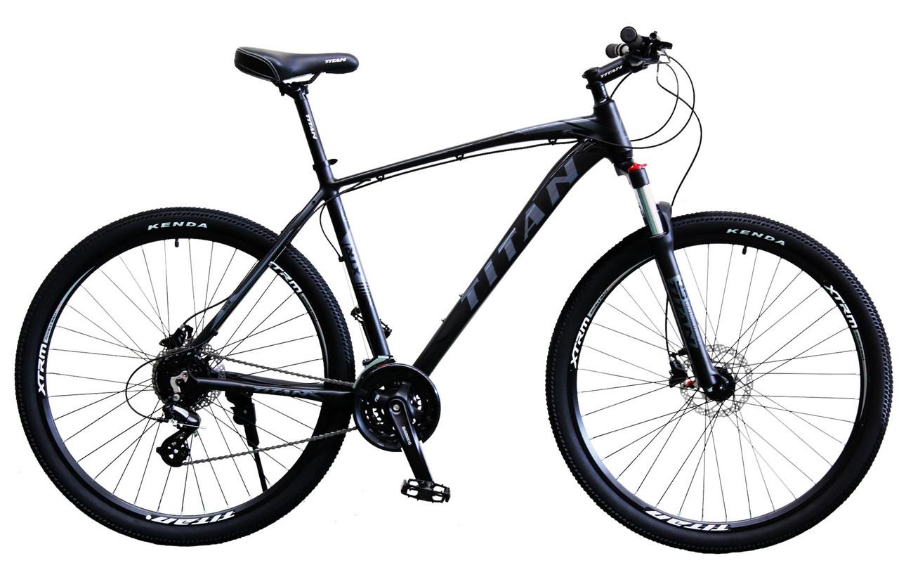 Флагман! Алюминиевый горный велосипед 29 TITAN EGOIST HDD (Shimano Altus, 24sp, Lockout, Гидравлика)