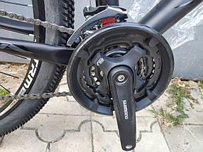 Флагман! Алюминиевый горный велосипед 29 TITAN EGOIST HDD (Shimano Altus, 24sp, Lockout, Гидравлика), фото 3