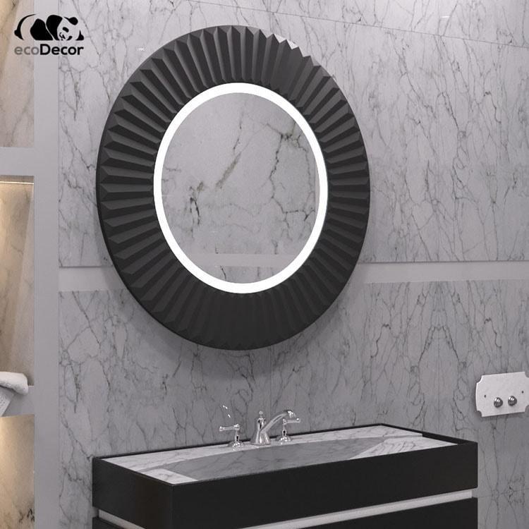 Зеркало в ванную черное Copenhagen