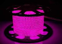 Светодиодная лента 120Led/m 2835 220В 4W/m AVT IP65 розовая