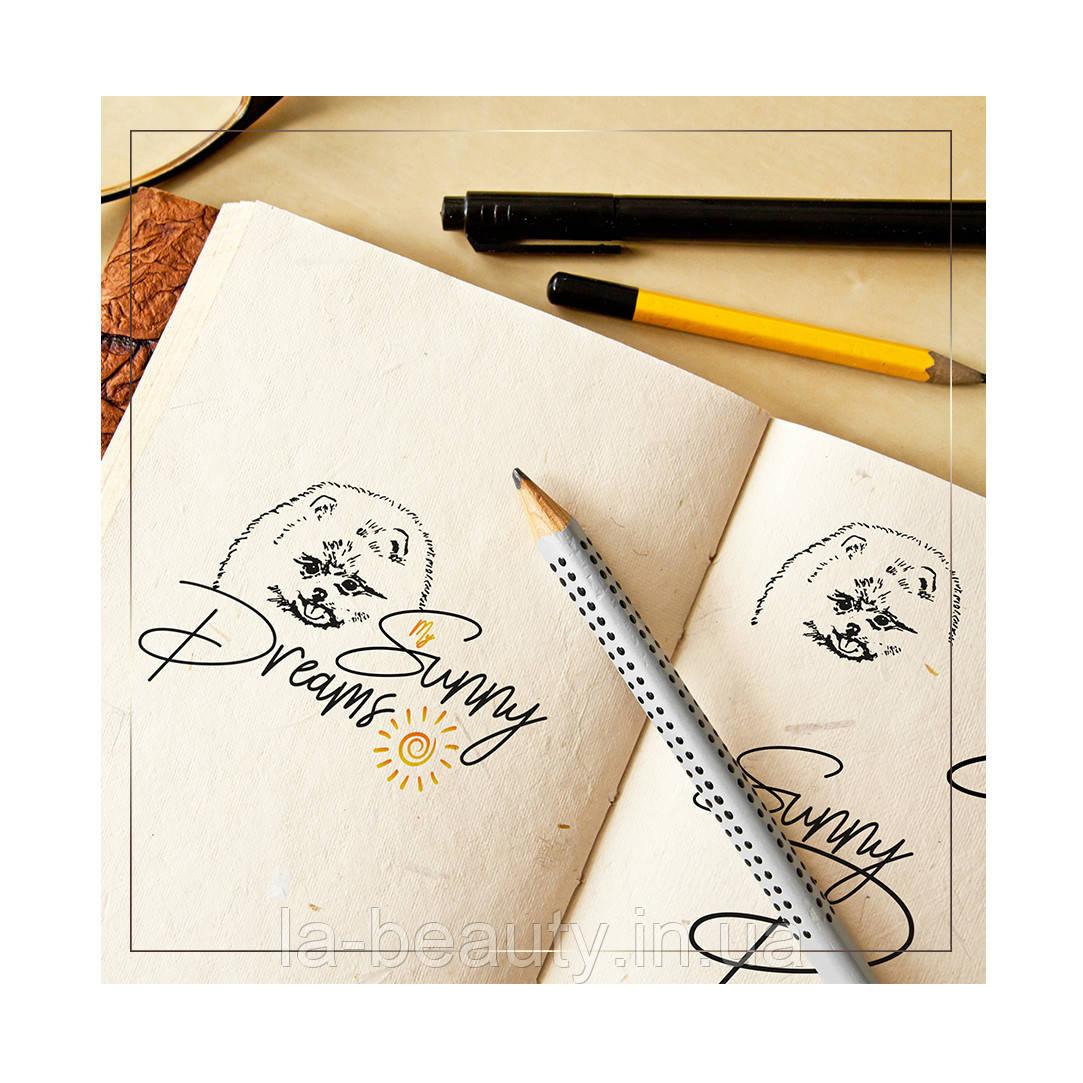 Дизайн логотипа питомника померанских шпицев My Sunny Dreams
