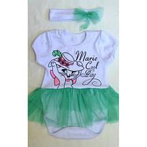 Комплект для юных принцесс с повязочкой, фото 2