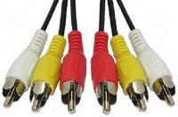 Аудио кабель 3RCA 5м CA-1420