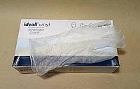 VINYLEX POWDER-FREE рукавички вінілові оглядові нестерильні неприпудрені прозорі S