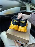 Женские кроссовки Prada Cloudbust Sneakers PA100 желто-черные, фото 7
