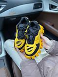 Женские кроссовки Prada Cloudbust Sneakers PA100 желто-черные, фото 6