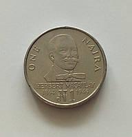 1 найра Нігерія 1991 р., фото 1