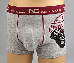 Трусы - боксеры Natural Club  #1110 122 см серый, фото 2