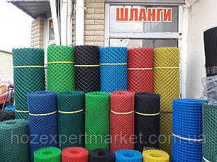 Сетка садовая пластиковая ,заборы.Ячейка 10х10 мм,рул 1х20м, фото 3