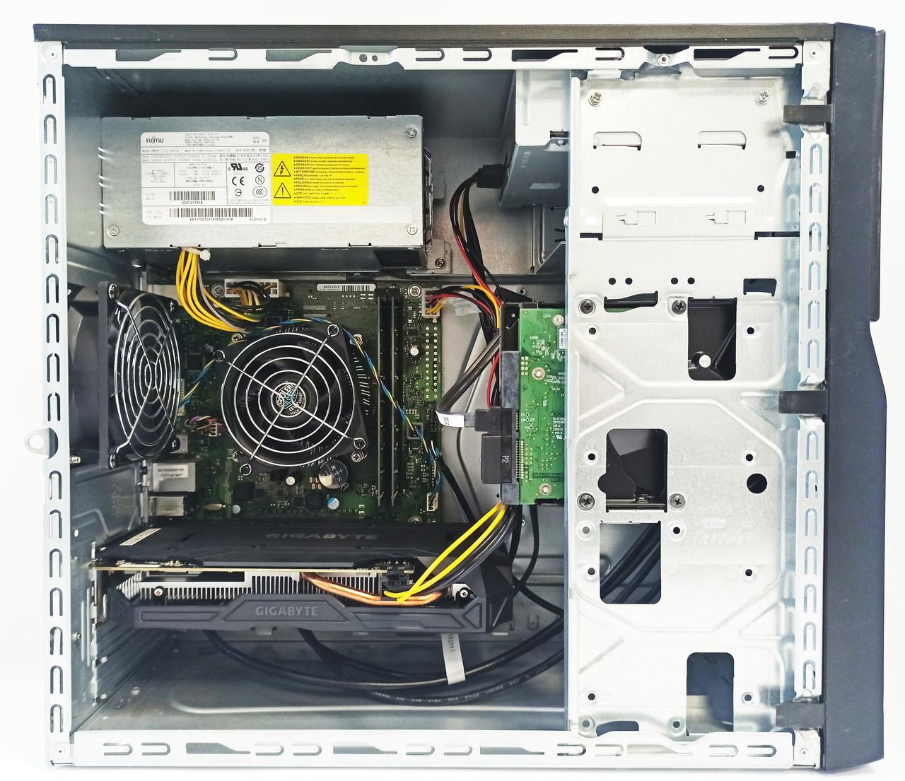Игровой компьютер БУ intel Core i7 4770 , GTX 1060 3GB , 8GB DDR3 , HDD 1TB
