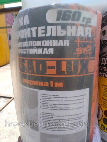 """Сетка строительная (фасадная,оранжевая) 160 g\m2"""",1х50м. (для наружных и внутренних работ)., фото 2"""