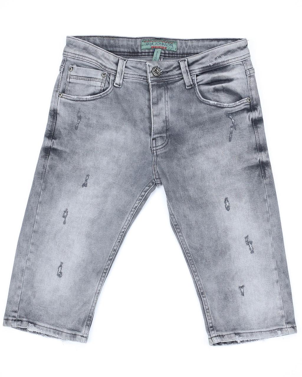 Бриджи джинс серый MARIO FUME 32(Р) 0095