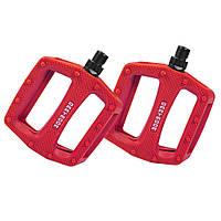 Педалі пластик Dartmoor Cookie, red