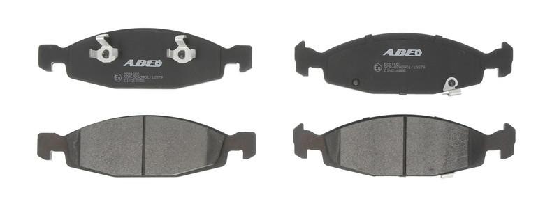 Колодки тормозные передние ABE D790ABE