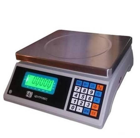 Ваги рахункові ВТЕ-Центровес-30-Т3С3 (30 кг), фото 2