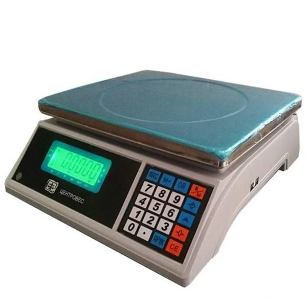 Ваги рахункові ВТЕ-Центровес-30-Т3С3 (30 кг)