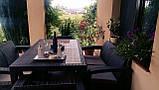 Комплект садовой мебели Allibert by Keter Corfu Fiesta Set Graphite ( графит ), фото 5