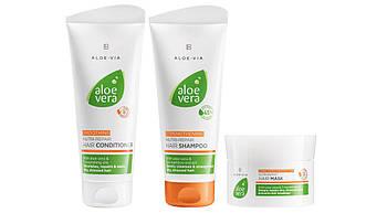 ALOE VIA Aloe Vera Набор для восстановления и ухода за волосами