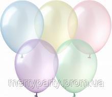 """12"""" (30 см) леденец прозрачный круглый ассорти Kalisan Турция латексный шар"""