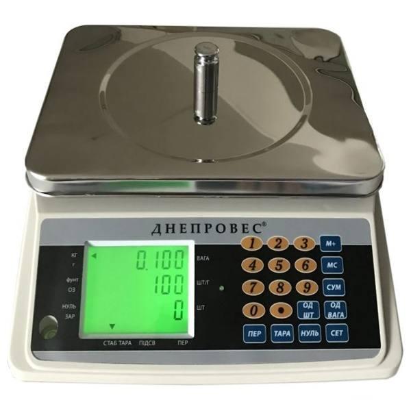 Счетные весы Днепровес СЧ (30 кг)