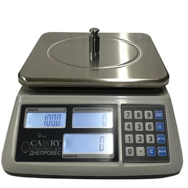 Счетные весы Днепровес Camry ВТД-6ССЧ (6 кг)