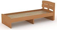 Кровать без ящиков Модерн-80 КОМПАНИТ Бук (213.2х85.2х80 см), фото 1
