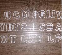 5 см Набор вырубок для для мастики пряника алфавит английский