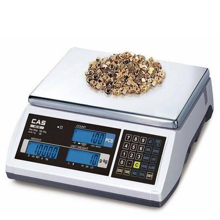 Весы счетные CAS EC 6 кг, фото 2