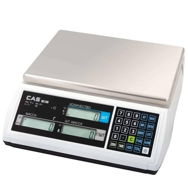 Весы счетные CAS EC 6 кг