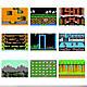Портативна ретро консоль Retro Gamebox Sup 400 in 1 денді приставка ігрова 8 біт Червона (Game Box 400in1), фото 4