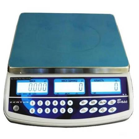 Весы счетные Certus Base СВСо (3/6 кг - 1/2 г), фото 2