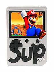 Портативна ретро приставка Retro Gamebox Sup 400 in 1 денді кишенькова ігрова 8 біт Біла (Gamebox 400 in 1)