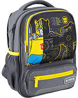 Рюкзак школьный Kite Kids Transformers 8л серый