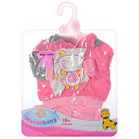 Кукольный наряд WarmBaby Розовый DBJ-445A-456, КОД: 1569662