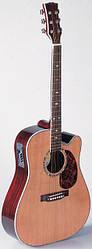 Электроакустическая гитара MAXTONE WGC1001