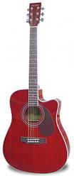 Электроакустическая гитара MAXTONE WGC4106 CE (TWR)