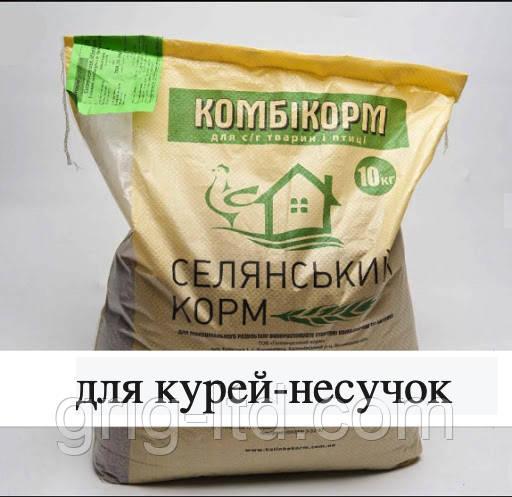 Комбікорм Селянський Старт для курей-несучок 1-8 тижнів, 10 кг