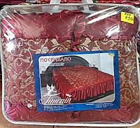 Жаккардовое покрывало на кровать
