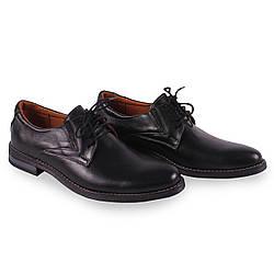 Кожание мужские туфли Zlett