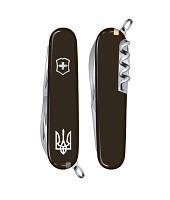Нож Victorinox Викторинокс Spartan Ukraine 91 мм 12 предметов черный