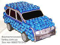 """Конфетный большой джип """"Синий Nissan"""", фото 1"""