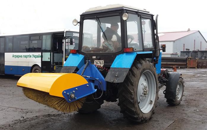 Щетка дорожная универсальная ЩДУ-2400 к трактору