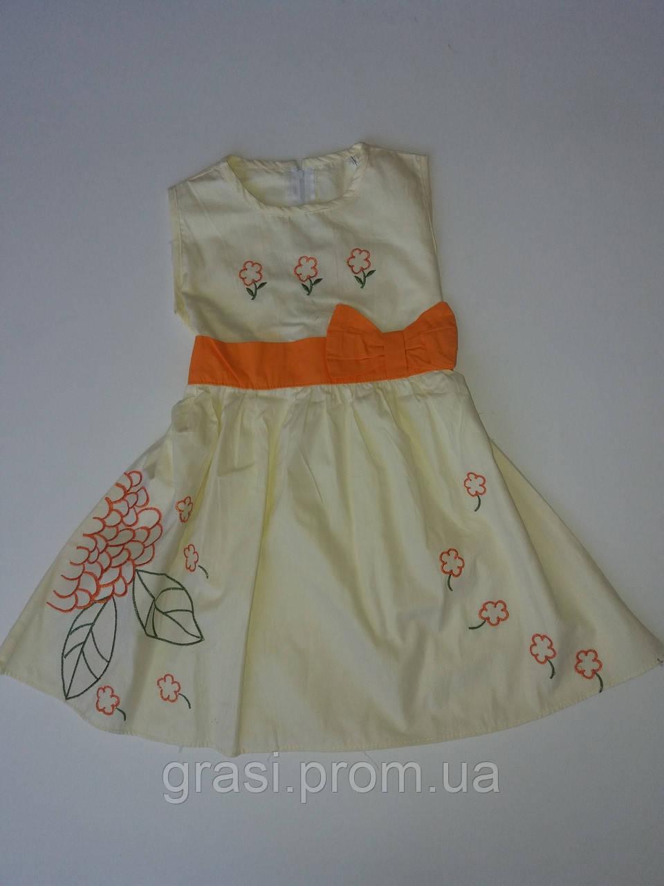 Платье летнее рост 104