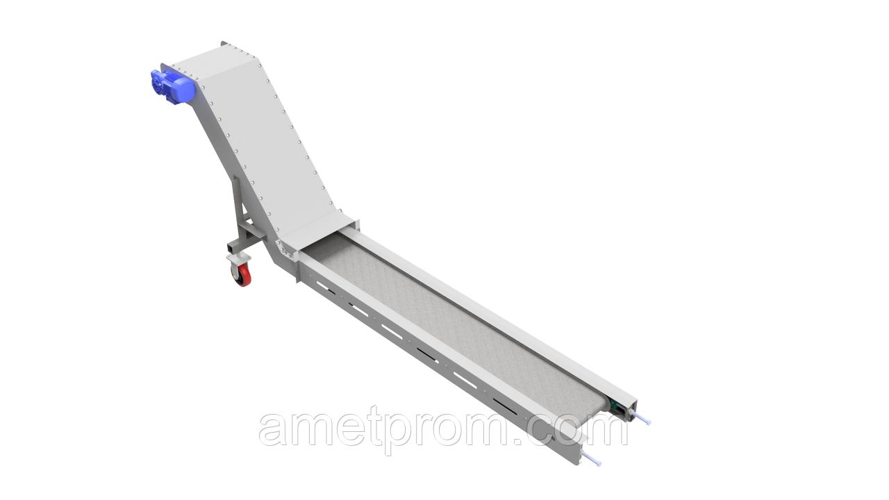 Конвейер для удаления стружки на чпу wv транспортер в спб