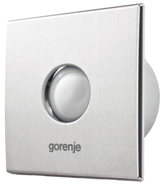 Вентилятор для ванной Gorenje BVX100STS/15 Вт/2400 об./мин./70 м3/ч, таймер