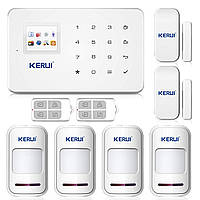 Беспроводная сигнализации GSM KERUI G18 для 4-х комнатной квартиры (uudgydf87dhnf)