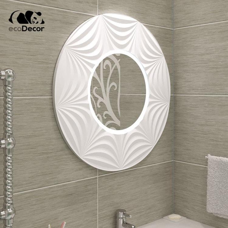 Зеркало в ванную белое Tallinn K2
