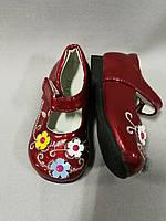 Туфли на липучках  для девочки до годика размеры  15(21), 16(22), фото 1