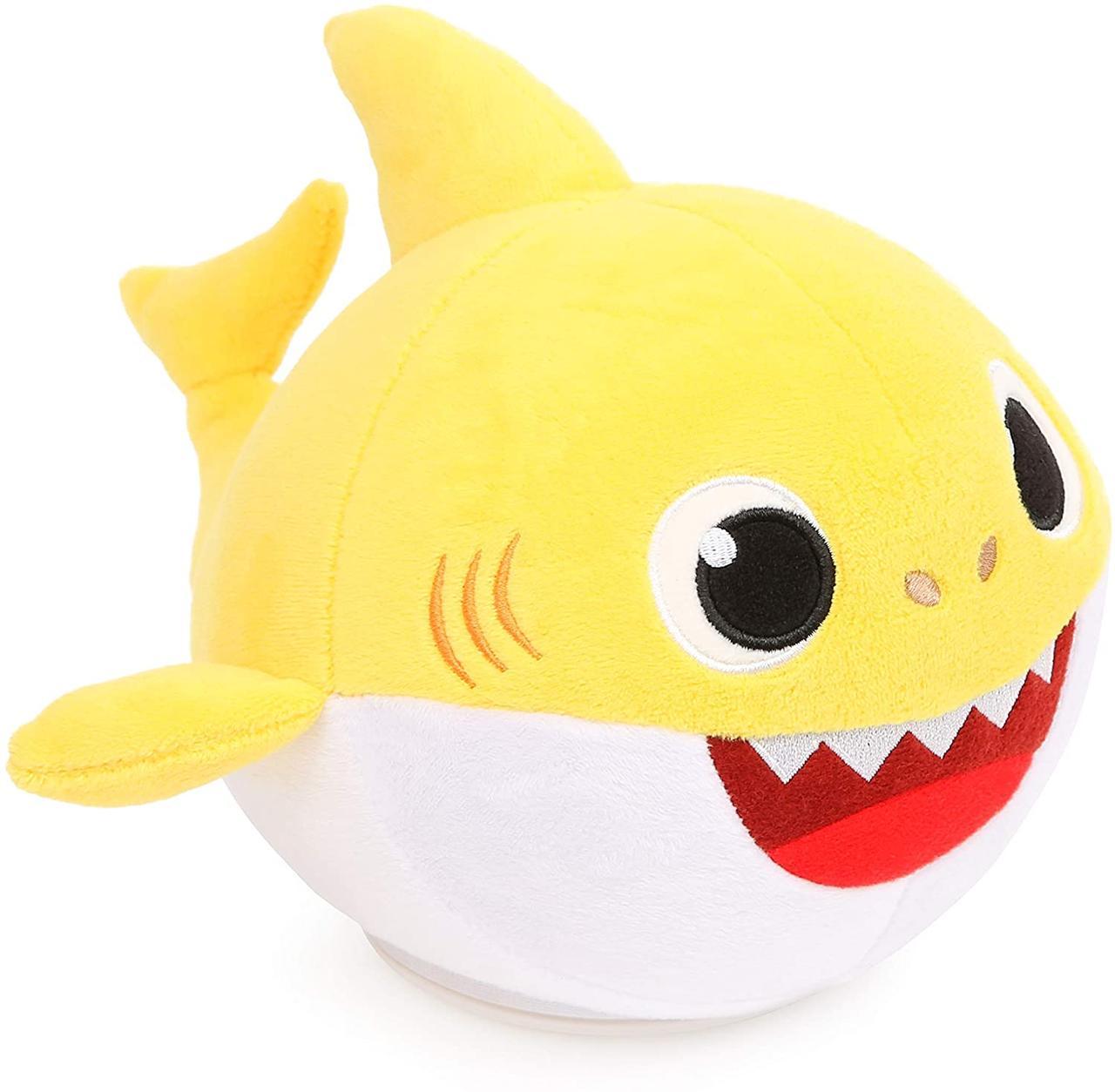 Интерактивная мягкая игрушка Baby Shark – танцующий малыш Акуленок (MBS-01002.INTL)